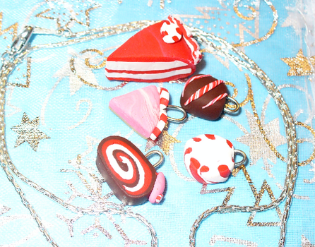 Winter cake charms by silintli