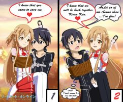 .: SAO : The Best Rescue Scene :. by Sincity2100
