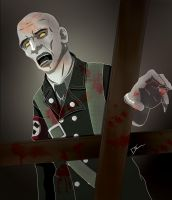 zombie by Link-artist
