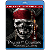 Pirates Of The Caribbean Collection Blu-ray Icon by SmokeU