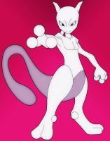 Mewtwo by BubbaZ85