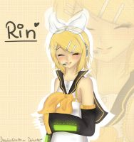 Rin Kagamine by Drawing-Heart