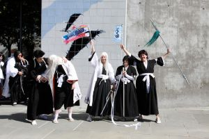 Fanime 2012 Bleach Squad 13 (two) by Hina-chan560