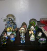My Snowglobe Collection X3 by AkiHannah