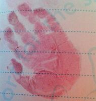 Dana's Hand Print 14.08.15 by kizgoth