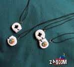 Game Controller BFF necklace by pamtamarindo