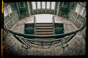 the staircase... by APPELBOOM