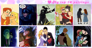 Top Ten Pairings Meme by Starlightlovesya123