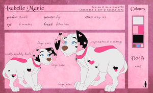 Isabelle Marie | 2015 Reference Sheet by Aiyana-Kopa