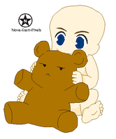 :: Teddy Bear Love Base :: by Nova-Starr-Pixels