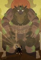 Shadow of the Colossus by cheshirecatart
