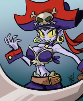 Villain Month 2014 - 023 - Risky Boots by AndrewDickman
