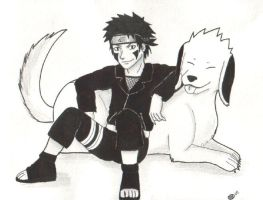 Chap. 282: Kiba and Akamaru by Elindar