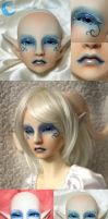 BJD Face Up - Resinsoul Ai 02 by Izabeth