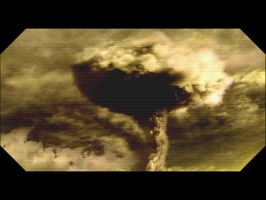 BSG - nuked Caprica by tibots