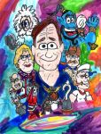 Robin Williams by SonicClone