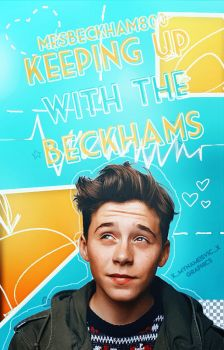 [WATTPAD COVER] ''Keeping Up With The Beckhams'' by VicStephan16