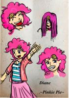 Pinkie Pie Concept Art by My-Little-PuellaMagi
