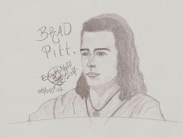Brad Pitt by EsGothNyff-SiX