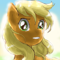 Apple Face by lotothetrickster