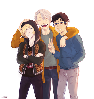 Yoi Trio by alex-29