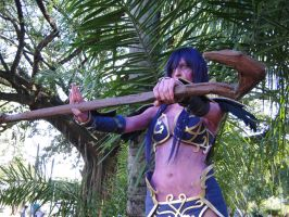 Night Elf Cosplay - World of Warcraft by pattylestat