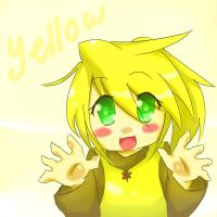 Chibi Yellow~ by AoNeko90