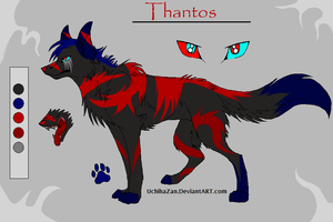 New OC-Thantos by BloodStarWolf