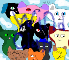 Windclan by Official-Fallblossom