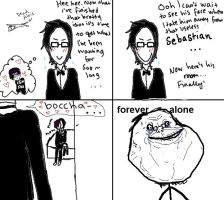 Claude is forever alone by iwannafucktheklaxons