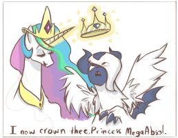 Princess Absol by RomaniZ