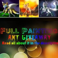 Full Painting Art Giveaway- Last Chance to Enter by Sandy-Claw