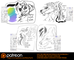 SAI BRUSH SETTINGS~! by LiLaiRa