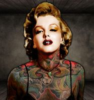 Monroe Tattoo by Blindesigns