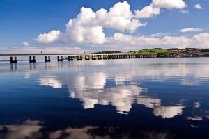 River of Reflections I by DundeePhotographics