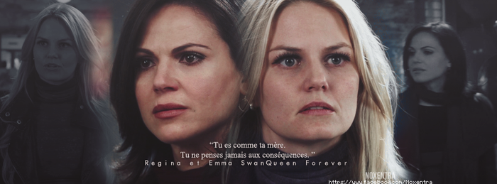 Regina et Emma SwanQueen Forever by N0xentra