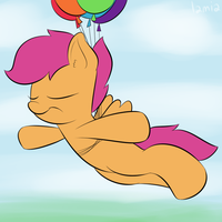 Scootaloon by Lamiaaaa