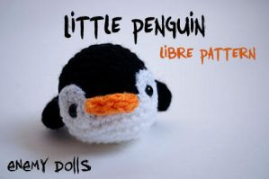 Little penguin amigurumi (with pattern) by Anxocunningham
