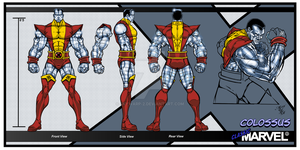 Classic Marvel-Colossus by skywarp-2