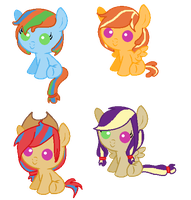 Appledash foal adopts [CLOSED] by SpellboundAdopts