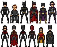 Bat-Family GB by MicroTraceour