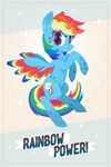 Rainbow Power! by sofas-and-quills