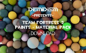 Team Fortress 2 Paints - Material Pack by Demidism