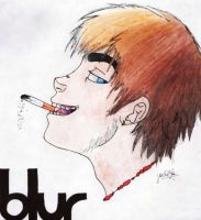 Damon Albarn by Javi-23