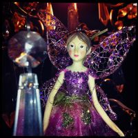 Chandelier Fairy 2 by elizabethunseelie