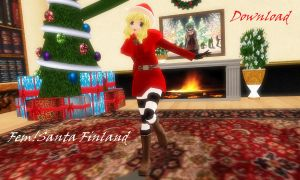 Fem!Santa Finland DOWNLOAD by Ringtail14