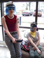 2-D and Noodle by FunnaCosplay