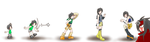 Evolution of Yuffie II by Zennore