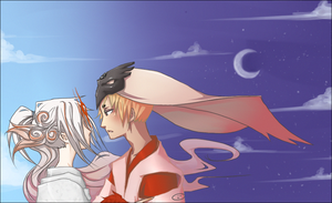 Okami:The Sun and the Moon: by nekodoru