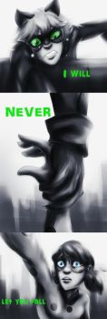 Never let you fall by MegS-ILS